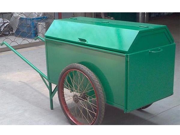 人力手推垃圾车